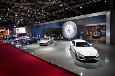 MASERATI AT THE PARIS MOTOR SHOW: DEBUTS FOR THE NEW QUATTROPORTE AND GHIBLI MODEL YEAR 2017