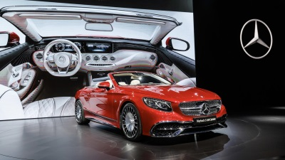 HighEnd Summit The First Maybach Cabriolet And The Most Powerful - Summit car show