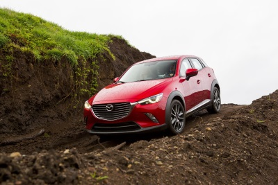 2016 MAZDA CX-3 TAKES HOME 'BEST COMPACT UTILITY VEHICLE' AWARD AT NORTHWEST AUTOMOTIVE PRESS ASSOCIATION'S 'MUDFEST'