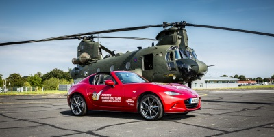The All-New Mazda MX-5 RF Joins The RAF's Recruitment Drive