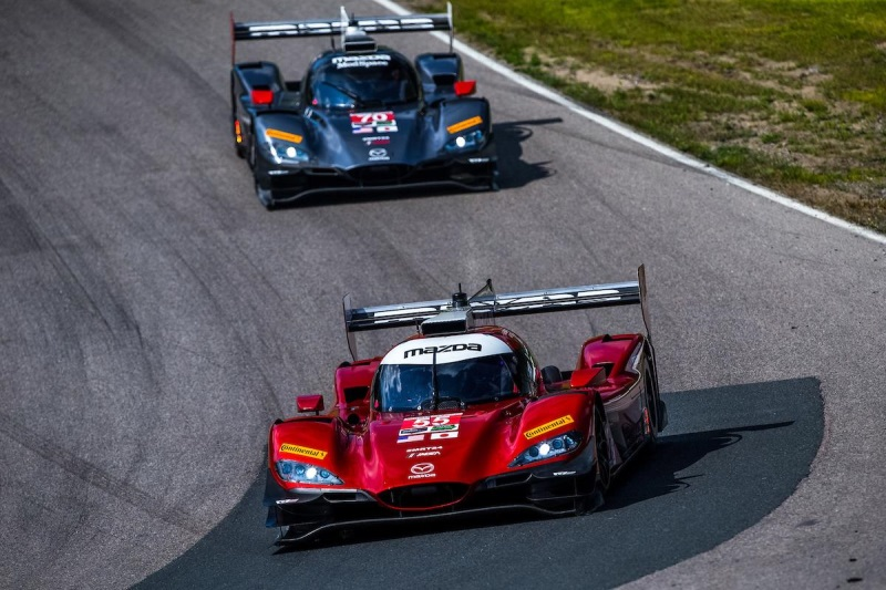 Solid Performances Means Top-Fives For Mazda Prototypes