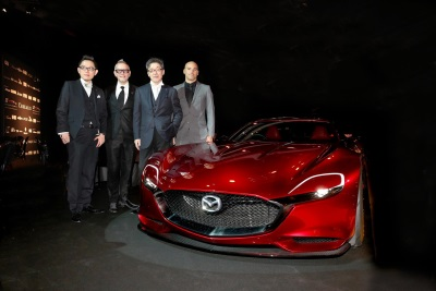 MAZDA RX-VISION NAMED MOST BEAUTIFUL CONCEPT
