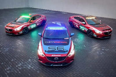 MAZDA6 SKYACTIV-D CLEAN DIESEL RACECARS TO TACKLE THUNDERHILL 25-HOUR