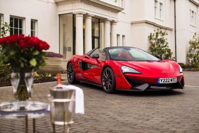 McLaren 570S Spider Is Ready In Red For True Romance On Saint Valentine'S Day