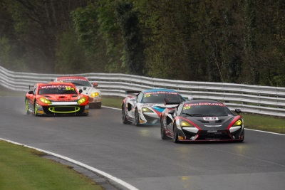 McLaren 570S GT4 Scores First Win Of 2017 At Oulton Park