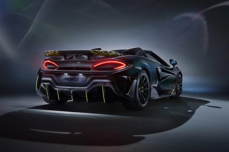 'Spider Spider' Set To Fly: The Last Open Top McLaren 600LTS Arrive Stateside - With An Added MSO Twist