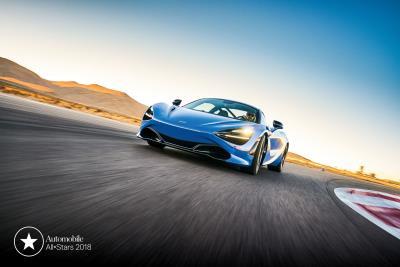 McLaren 720S Named An Automobile Magazine All-Star