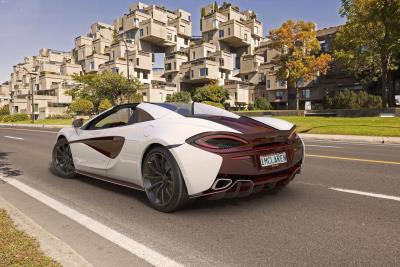 McLaren Special Operations And Pfaff Partners Create MSO Bespoke 570S Spider Canada Commission
