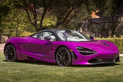 McLaren Special Operations Presents Unique McLaren 720S Customer Commission At Pebble Beach Concours d'Elegance