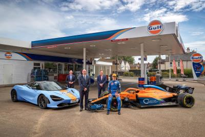 Gulf Partners With McLaren To Announce Multi-Year Partnership Covering Luxury Supercars And Formula 1