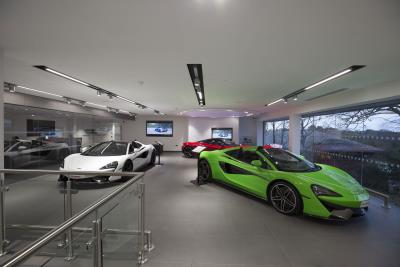 McLaren Manchester Officially Opens Its Doors In Wilmslow