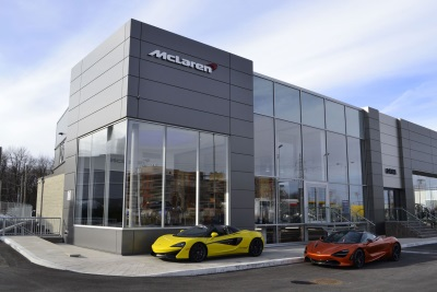 McLaren Montréal Officially Opens Its Doors