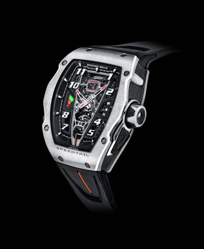 McLaren Automotive and Richard Mille unveil exclusive RM 40-01 Speedtail timepiece