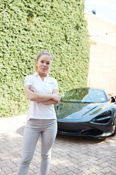 McLaren Automotive scientist crowned Young Woman Engineer of the Year