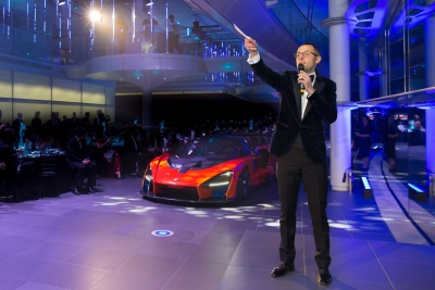 One Remaining McLaren Senna Raises £2 Million For The Ayrton Senna Institute