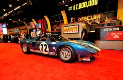 $7 Million Ford GT40 Tops Sales at Over $33.6 Million Mecum Auction in Houston