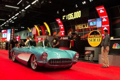 MORE THAN MILLION AT MECUM DENVER AUCTION - Classic car show denver