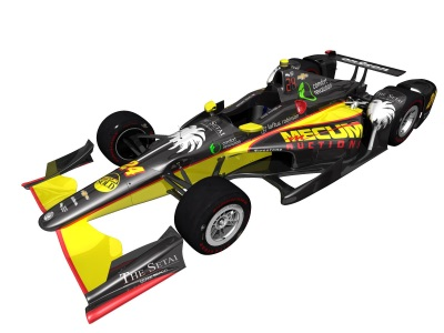 Mecum Auctions To Sponsor No. 24 Dreyer & Reinbold Racing Chevrolet In 101St Indianapolis 500