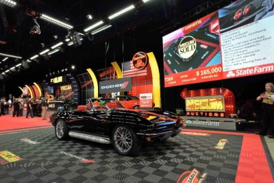 CORVETTES RULE THE ROOST ON THURSDAY AT MECUM KISSIMMEE - Kissimmee car show saturday