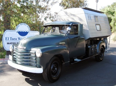 Mecum Set To Auction Off Steve Mcqueen's 'Last Ride' 1952 Chevrolet 3800 Series Pickup Truck With Custom Camper