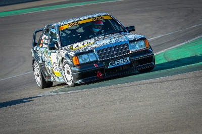 Mercedes-Benz 190 E 2.5-16 Evolution II takes to the starting line of the ADAC 24h Classic Race to compete in the Youngtimer Trophy