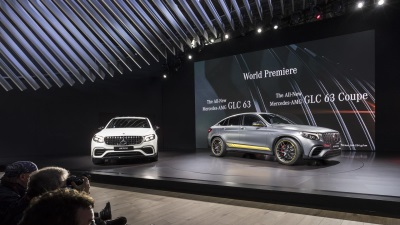Mercedes-Benz at the 2017 New York International Auto Show : Two world premieres and two U.S. premieres deliver a sporting edge
