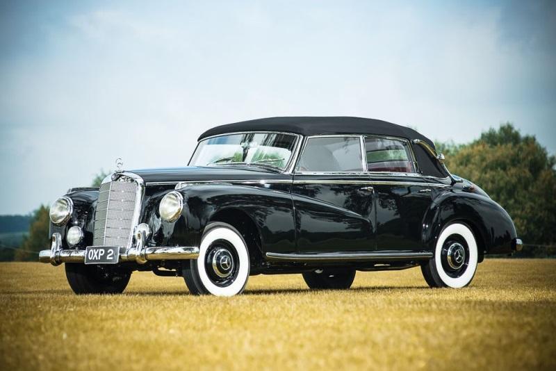 Luxury, Classic Mercedes-Benz 300 To Star At Salon Privé Auction