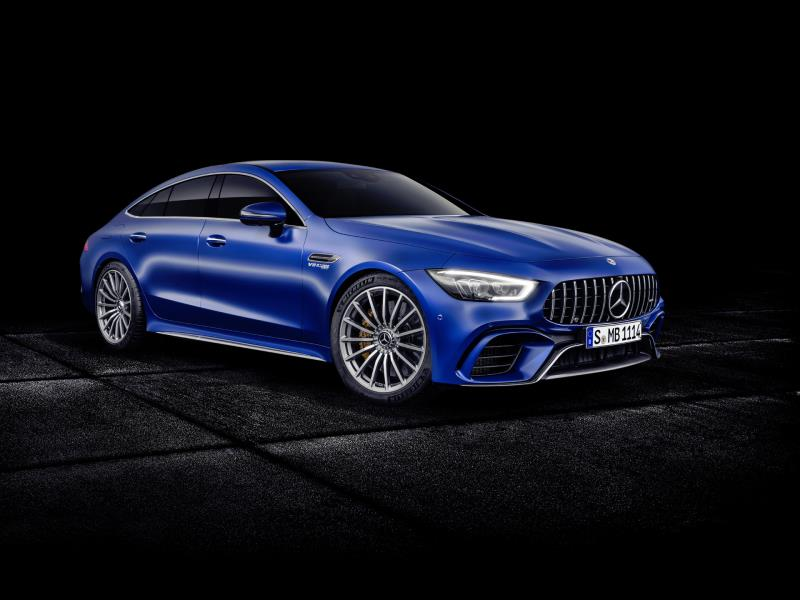 Pricing And Specification Announced For The New Mercedes- AMG GT 4Matic+ Four-Door Coupé