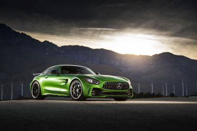 Automobile Names Mercedes- AMG GT R As A 2018 Automobile All-Star