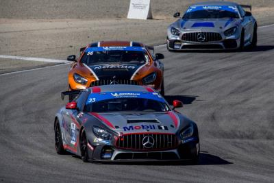 Mercedes- AMG Takes IMSA Michelin Pilot Challenge Grand Sport Manufacturer Championship Points Lead After Third Race Win