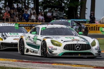 Mercedes-AMG Team Riley Motorsports Overcomes Penalty And Hard Hits For Fifth- Place Finish