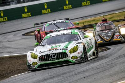 Three Mercedes- AMG Customer Racing Teams Go The Distance To Finish This Weekend's Record-Setting Rolex 24 At Daytona