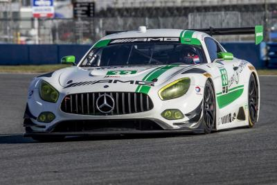 Eight Mercedes- AMG Motorsport Customer Racing Entries On Track This Weekend At The IMSA Roar Before The Rolex 24
