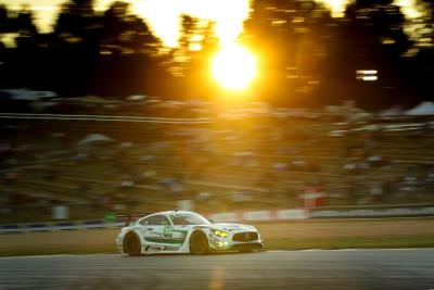 Mercedes- AMG Sweep Second-Consecutive Tequila Patrón North American Endurance Cup Championships At Motul Petit Le Mans