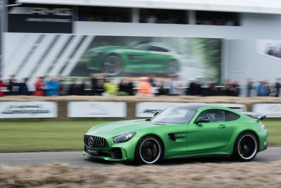 Mercedes Benz Cars UK Celebrates 50 Years Of AMG At The 2017 Goodwood  Festival Of