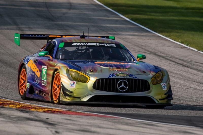 Mercedes-AMG Motorsport Customer Racing Teams Gain IMSA Weathertech Sportscar Championship Points At Road America