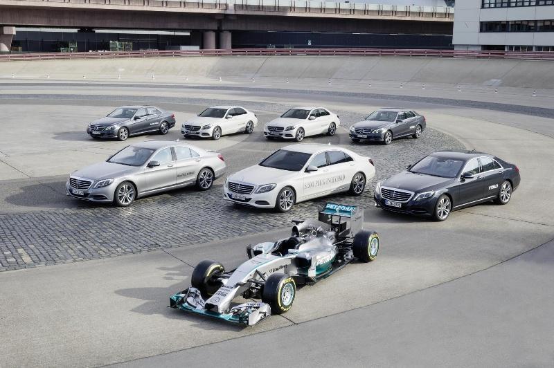 Mercedes-AMG High Performance Powertrains Honoured With The Prestigious Dewar Trophy