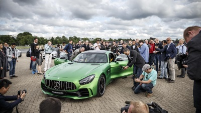 Performance brand within Mercedes-Benz celebrates a spectacular world premiere