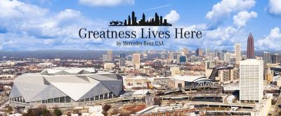 Mercedes-Benz Salutes Atlantans With A Heart Of Gold Of Valentine's Day