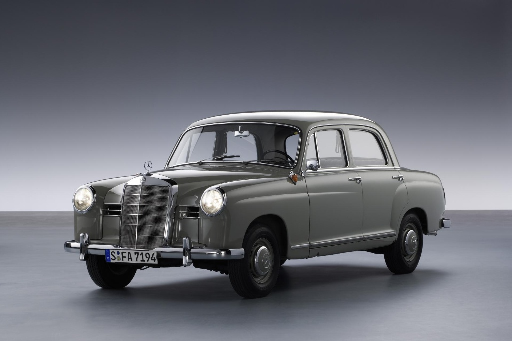 Pioneer of modern automobiles: the Mercedes-Benz 180 (W 120) debuted ...