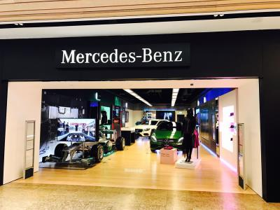 Latest Mercedes-Benz Pop-Up Shop Opens In Meadowhall Shopping Centre, Sheffield