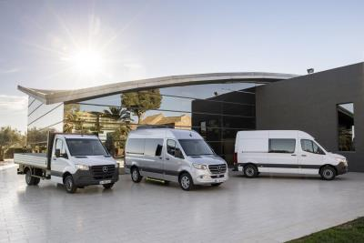 Mercedes-Benz Presents The Third Generation Of The Sprinter