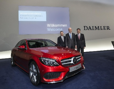 Daimler on a successful path in 2013: record levels of unit sales, revenue, EBIT and net profit