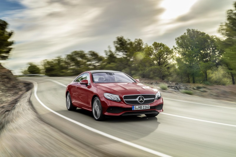 MERCEDES-BENZ REVEALS PRICING AND SPECIFICATION FOR NEW E-CLASS COUPÉ