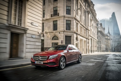 Mercedes-Benz E-Class Named Professional Driver'S 'Car Of The Year'
