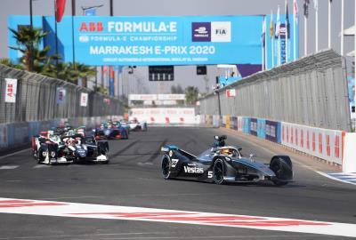 Instructive Weekend For Mercedes-Benz EQ Formula E Team In Marrakesh