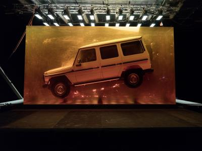 Spectacular Installation For The World Premiere Of The New G-Class In Detroit