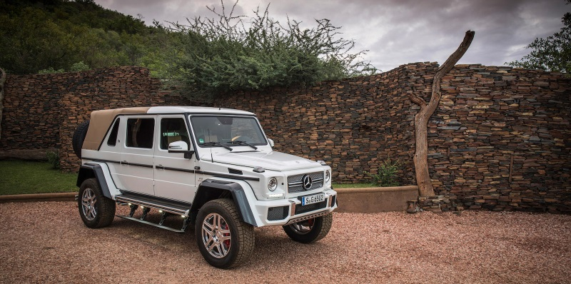 Ultra Rare Mercedes-Maybach G-Class To Be Sold For Charity At Bonhams Zoute Sale