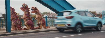 MG Pokes Fun At 'Dinosaur Drivers' In New Electric Range TV Advert