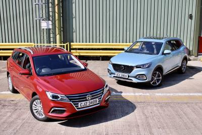 Electric For All! MG Offers A Range Of Three Electric Cars With The Launch Of All New Mg5 EV And MG HS Plug-In